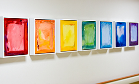 Work of Noted Artist Now Adorns Walls at  Westchester Medical Center
